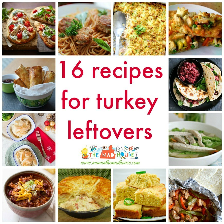 16 Leftover turkey recipes that the whole family will love