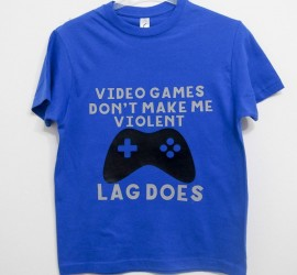 Personalised Lag Kills T-Shirt made on The Explore One