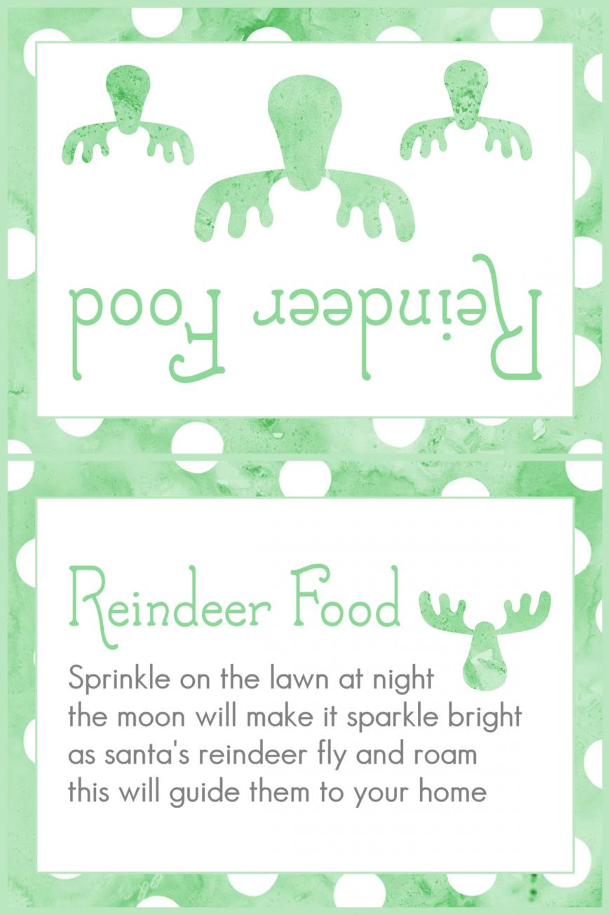 Magic Reindeer Food 2015 - Green Dots