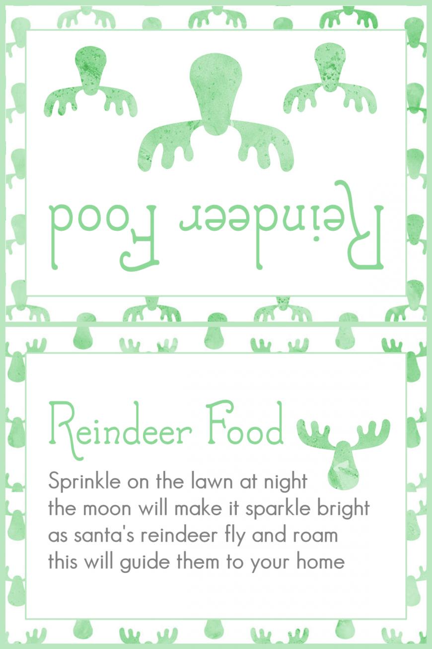 Magic Reindeer Food 2015 - Green Reindeer