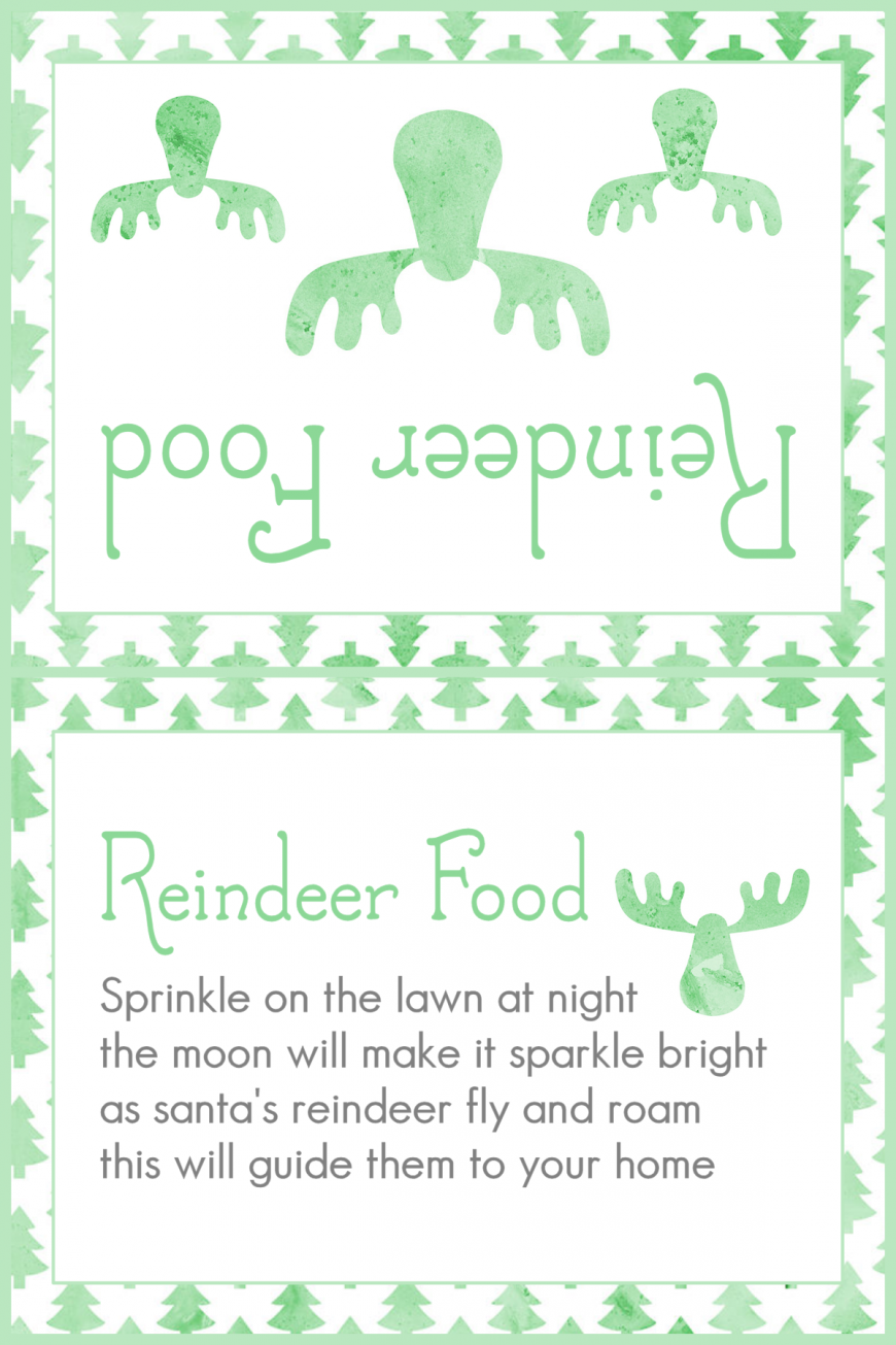 Magic Reindeer Food 2015 - Green Trees