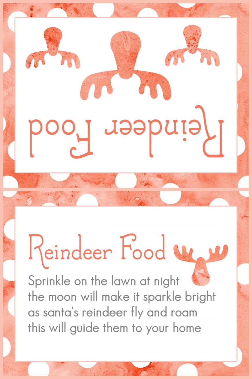 Magic Reindeer Food 2015 - Red Dots