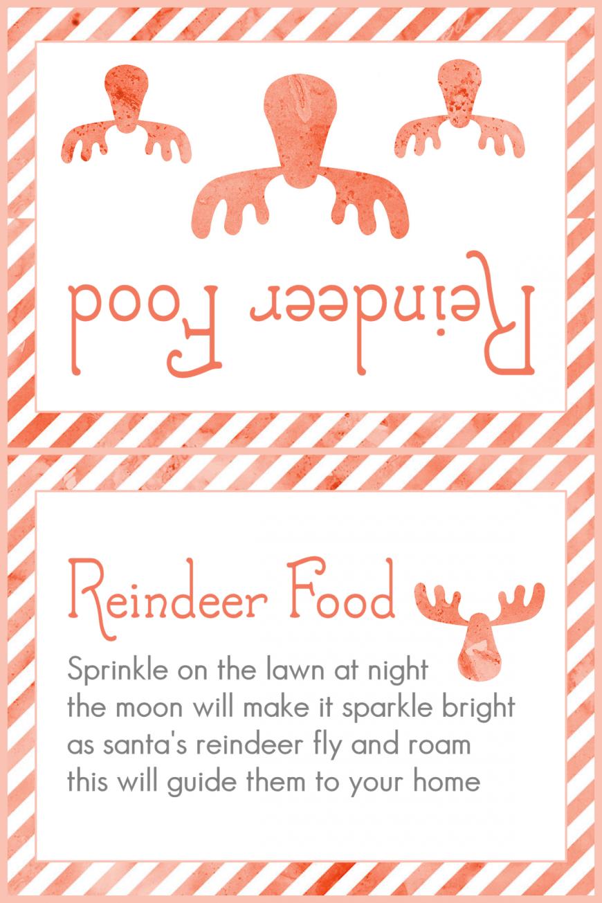Magic Reindeer Food 2015 - Red Stripes
