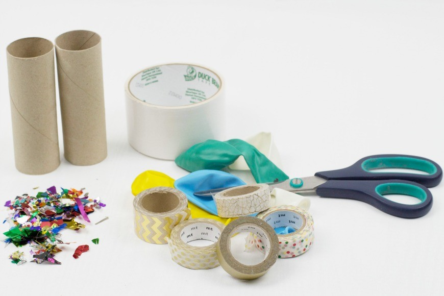how to make toilet roll confetti poppers