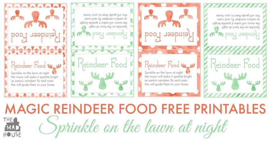 magic reindeer food facebook