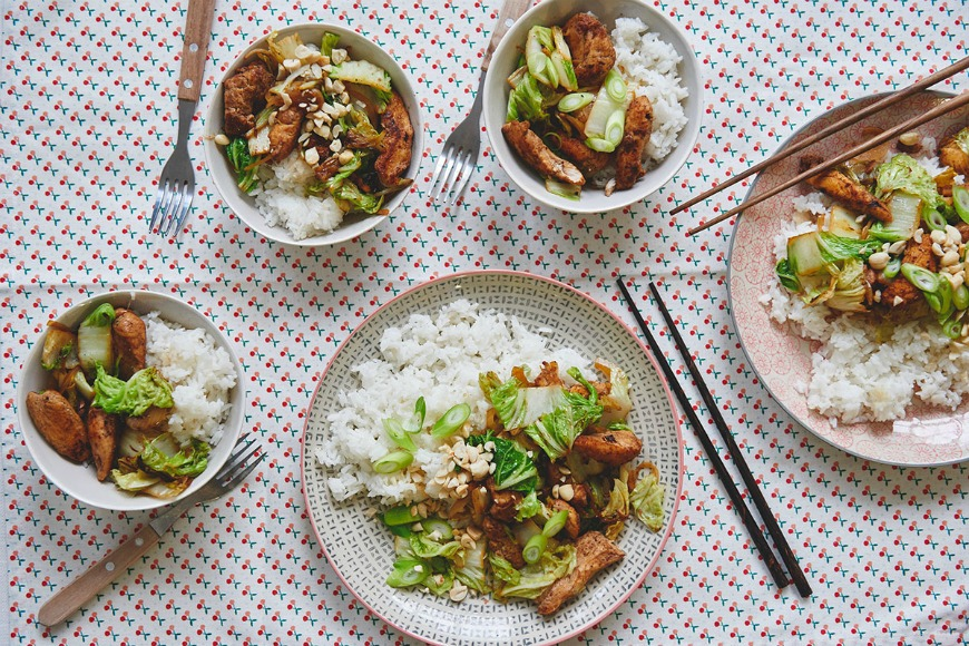 Chinese Chicken – A fab fakeaway for cooking with kids
