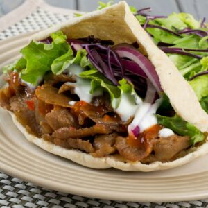 Fakeaway slow cooker doner kebab
