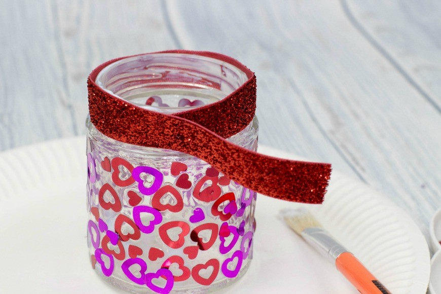 Heart Jar Luminaries