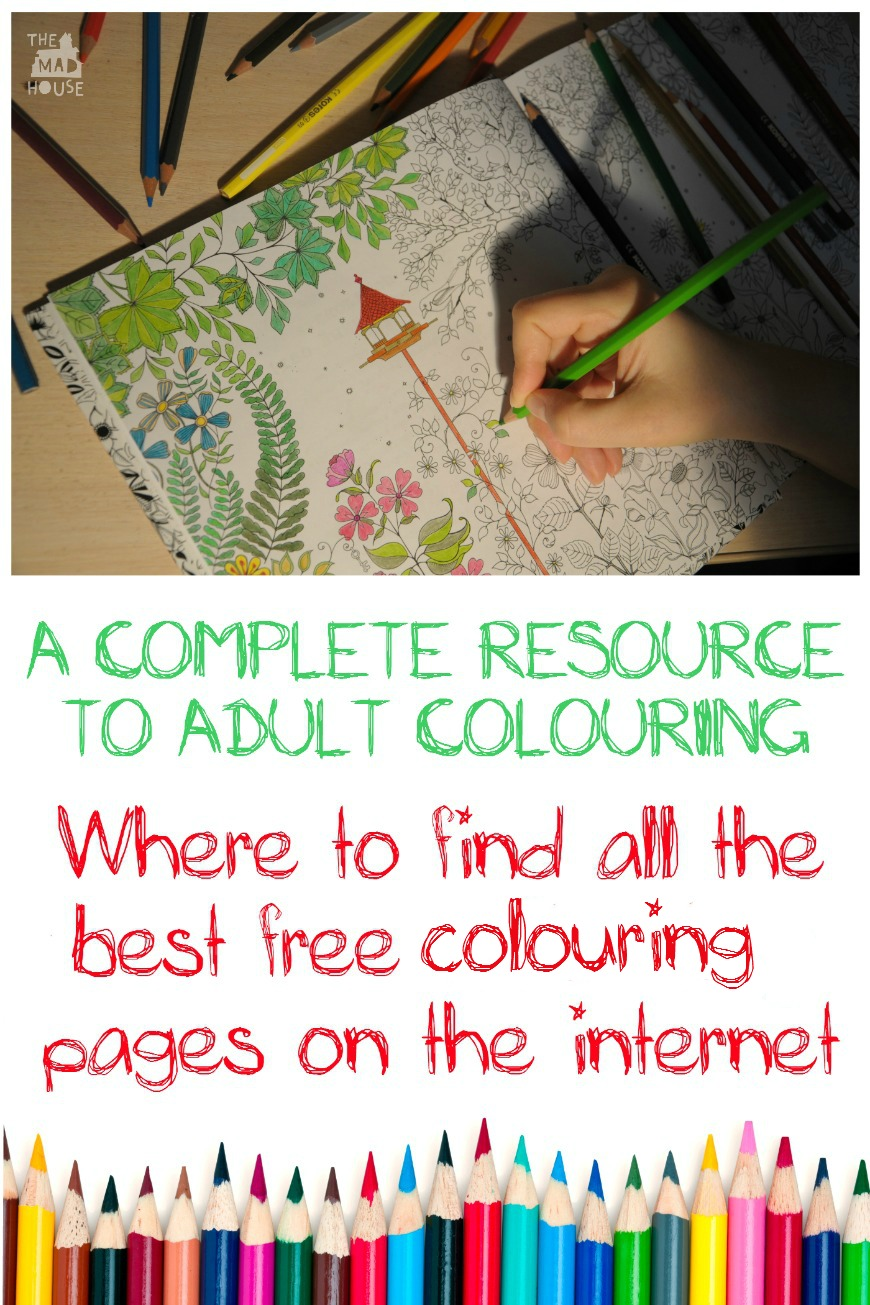 The Ultimate Free adult colouring pages roundup - Mum In The Madhouse