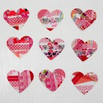 Washi Tape Hearts – Preschool Process Art