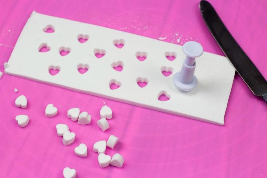 heart cutout tea light holders