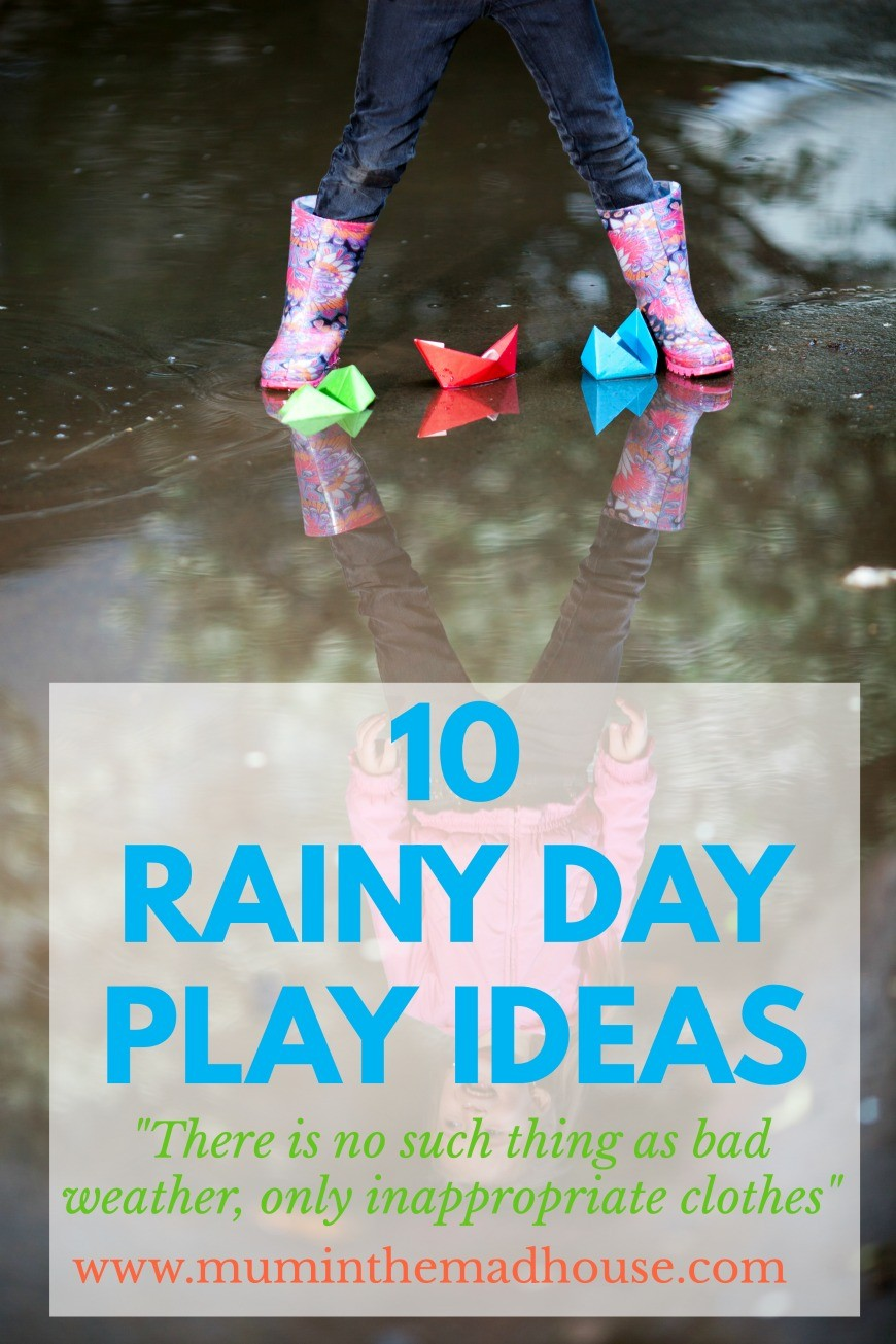 Ace activity ideas for getting out and about no matter what the weather.
