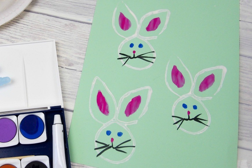 Recycled Toilet Roll Easter Bunny Stamp Mum In The Madhouse
