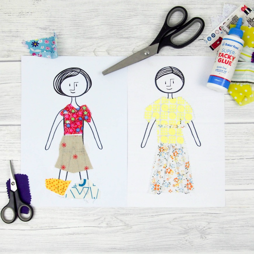 photo about Printable Vintage Paper Dolls called S cloth paper dolls - Mum Within The Madhouse