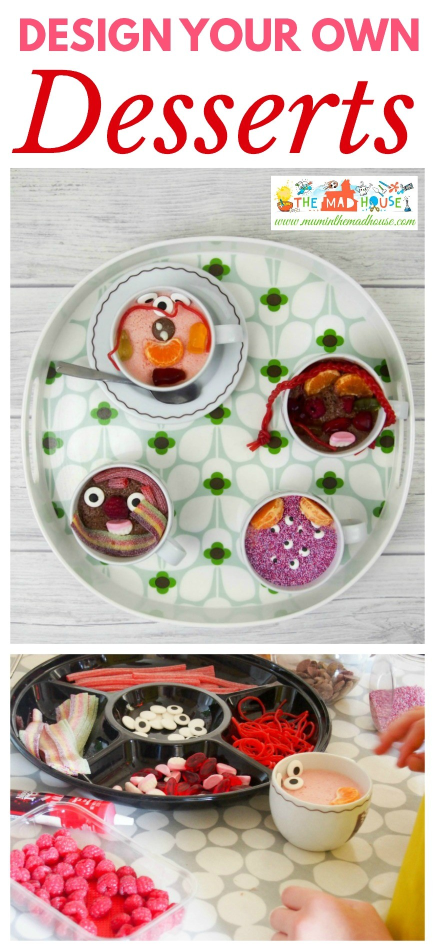 This kids dessert buffet is an excellent way to encourage your kids to eat new foods and perfect for a party. I love getting kids in the kitchen and having fun with foods.