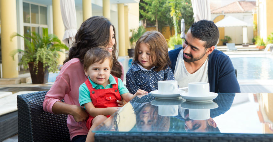 5 tips for choosing a family friendly hotel. What you need to consider when choosing a hotel room for your family.