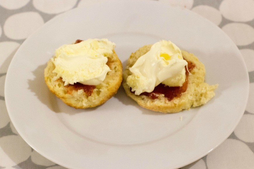 Lemonade scones - what! Scones made with lemonade. This simple recipe for scones using only three ingredients and tastes delicious. It is perfect for cooking with kids and is fun too.