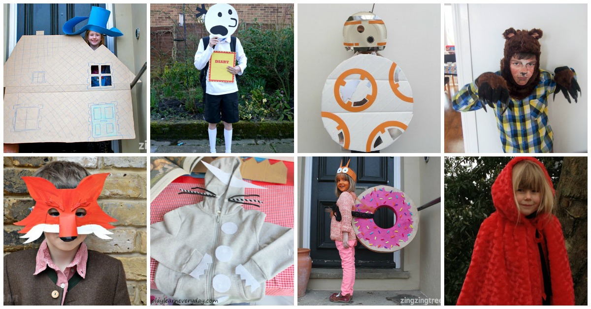 Celebrate World Book Day with these simple DIY World Book Day Costume ideas. There is  sc 1 st  Mum In The Madhouse & DIY World Book Day Costume ideas for school - Mum In The Madhouse