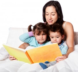 The importance of bedtime stories. We know that there are loads of reasons why reading to children from when they are babies is key, but it is also really important for adults too. It is an unparalleled opportunity to bond with your kids and put right anything that might have gone wrong earlier in the day. The fears and concerns that sometimes children don't readily give voice to during the day often come tumbling during bedtime stories