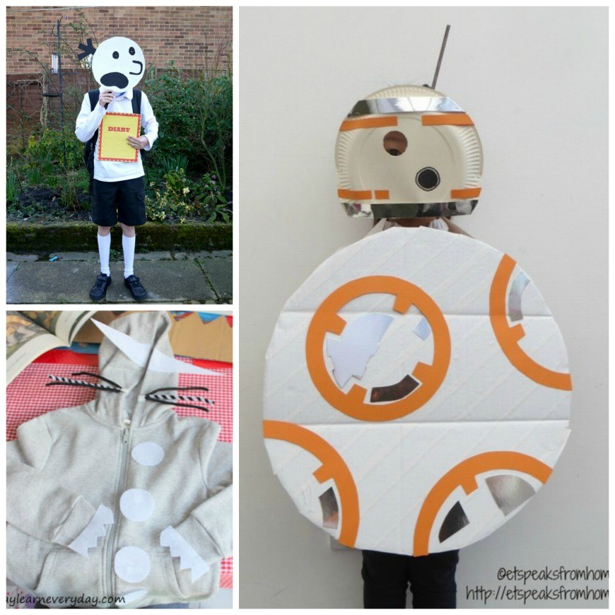 Diy World Book Day Costume Ideas For School Mum In The Madhouse
