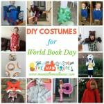 DIY World Book Day Costume ideas for school