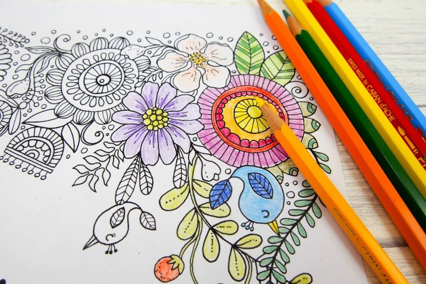 Mindfulness Coloring Pages Pdf : Believe in yourself adult colouring pages mum in the madhouse