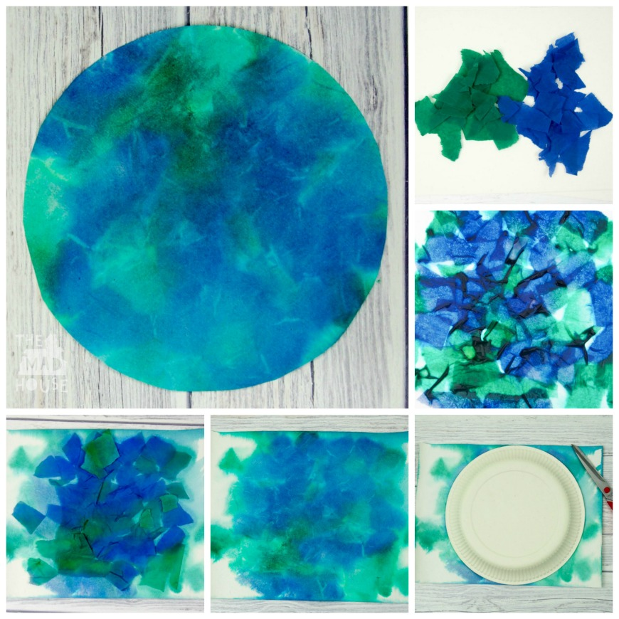 Art And Crafts With Tissue Paper