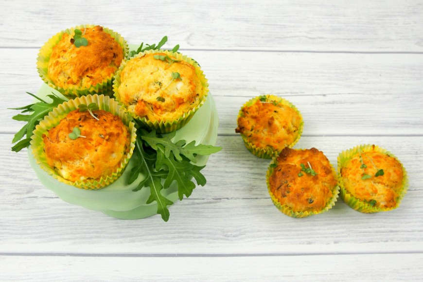 Cress and Cheese Muffins