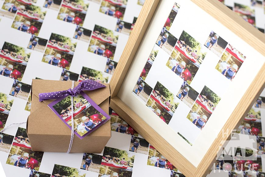 Personalised Party Crafts - Who wouldn't be delighted with these unique DIY craft ideas for a fab celebration or party?  Signing the frame would make this such a beautiful keepsake for a wedding or christening.