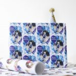 Personalised Party Crafts: Dom and Geri Wrapping Paper