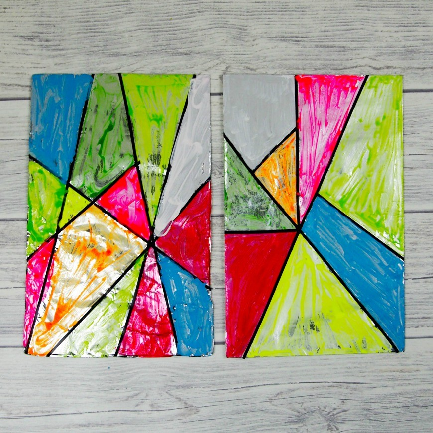 Stained Glass Craft For Kids