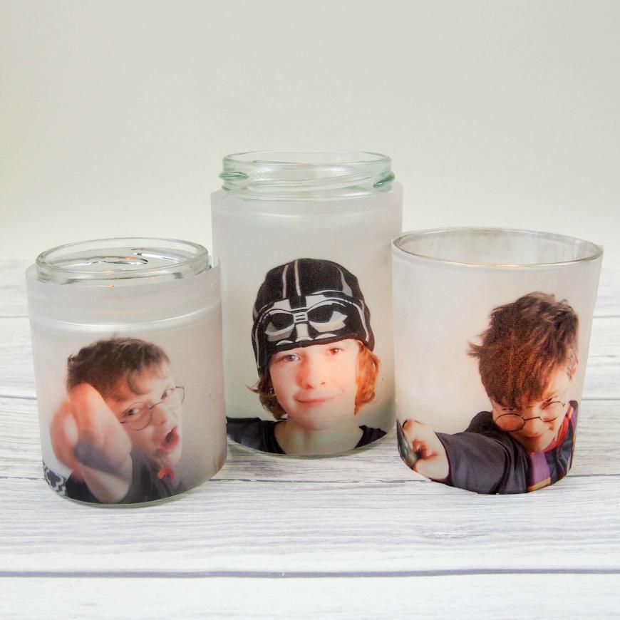Photo jar luminaries mum in the madhouse for Making luminaries