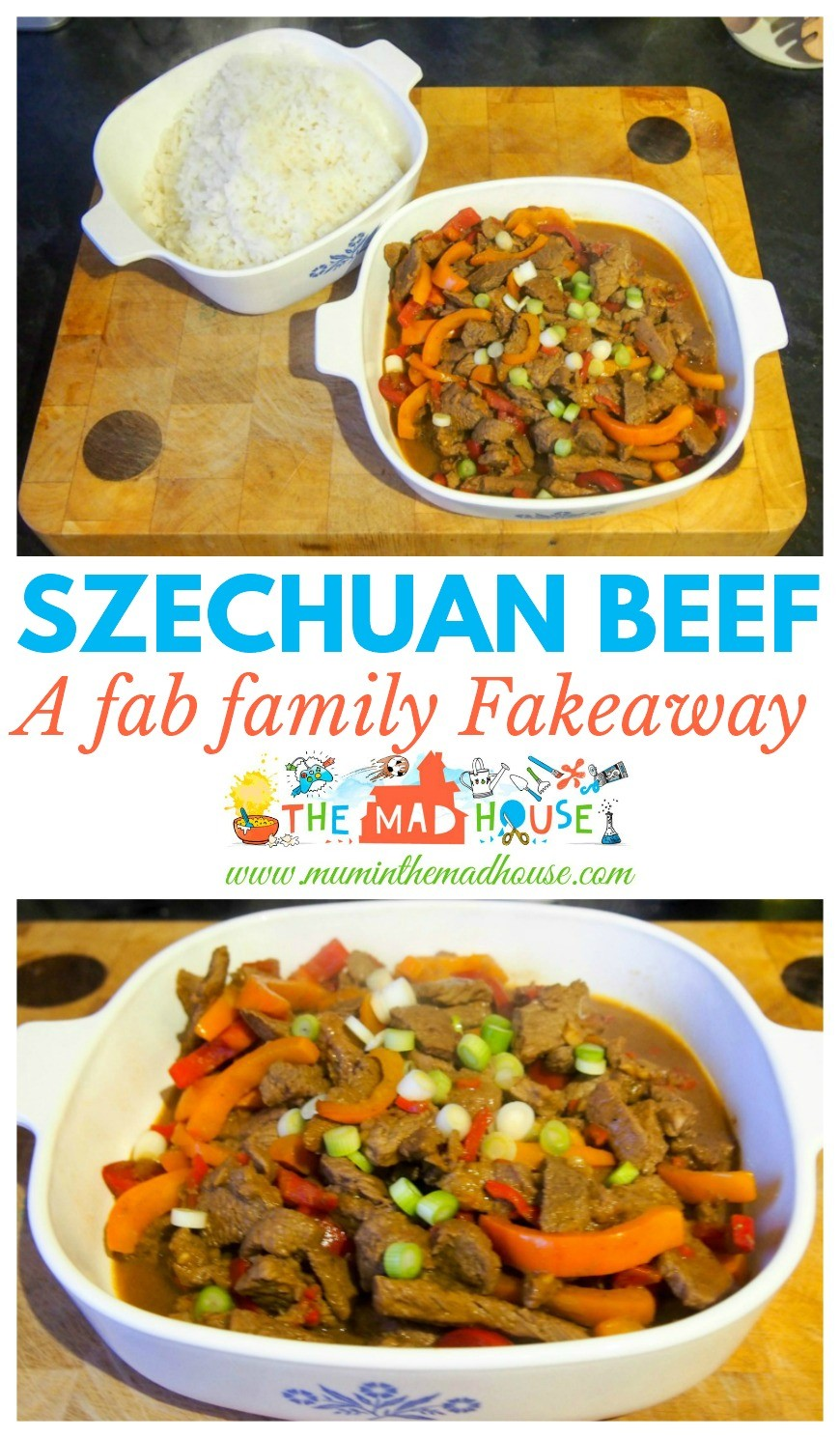 This Szechuan Beef recipe is a real crowd-pleaser and so simple to make. It is a great fakeaway for all the family.