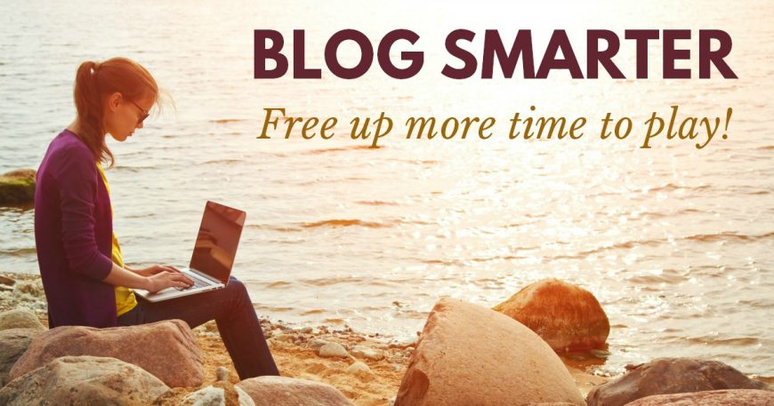 Blog smarter, not harder. Why you need an editorial calendar. This editorial calendar will help you work faster to free up more time to play!