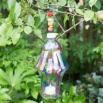 DIY Garden lantern from a plastic bottle