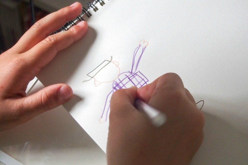 Drawing for fun