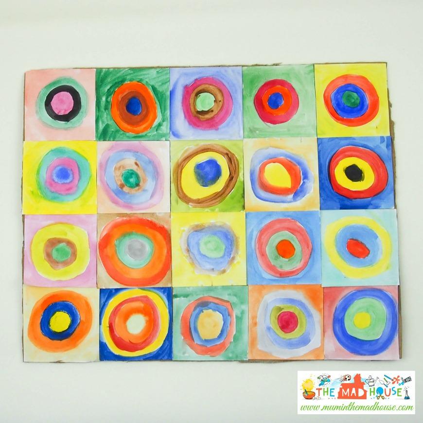 Circles in a Circle  Philadelphia Museum of Art