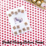 Pocket Money Photo Frame for Fathers' Day