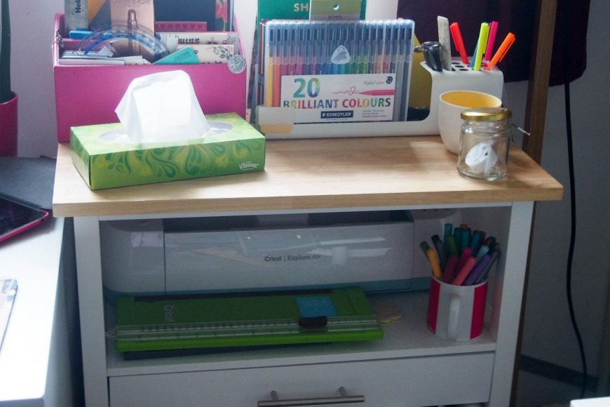 Where I work - A glimpse in to our Office and Craft Room ...