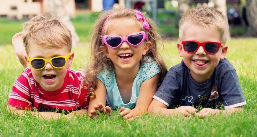 There's sunscreen lotion for your skin but how do you protect your kids' eyes from the sun? 5 ways to protect your kids' eyes this summer