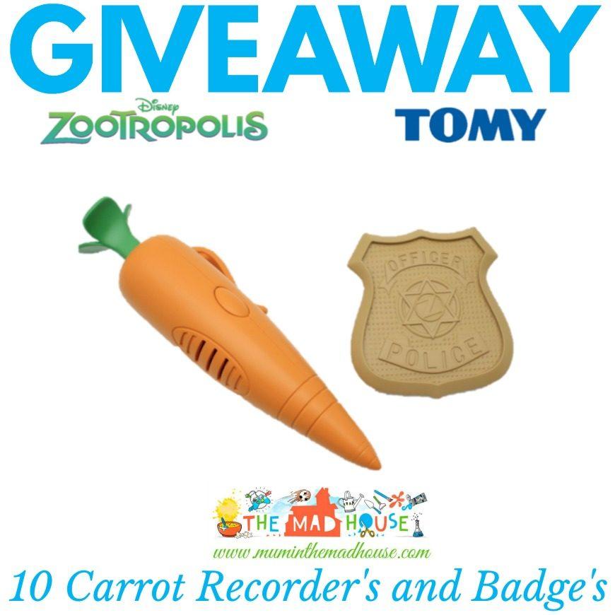 Tomy Toys Zootropolis Giveaway