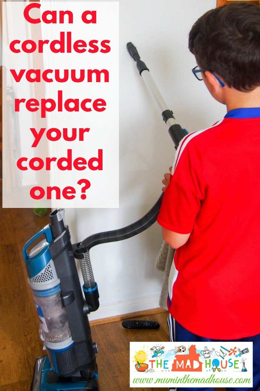 Can a cordless vacuum replace a corded one? Is there room in your home for a cordless vacuum? Bissell PowerGlide® Cordless Vacuum Cleaner Review