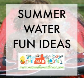 Summer water fun ideas for kids