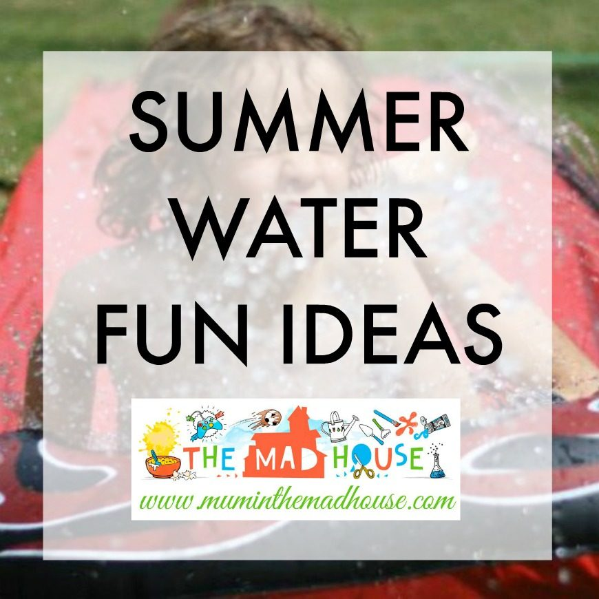 One of the best things about summer is water play and summer is the perfect time to have some water fun as a family. The summer is all about making memories.