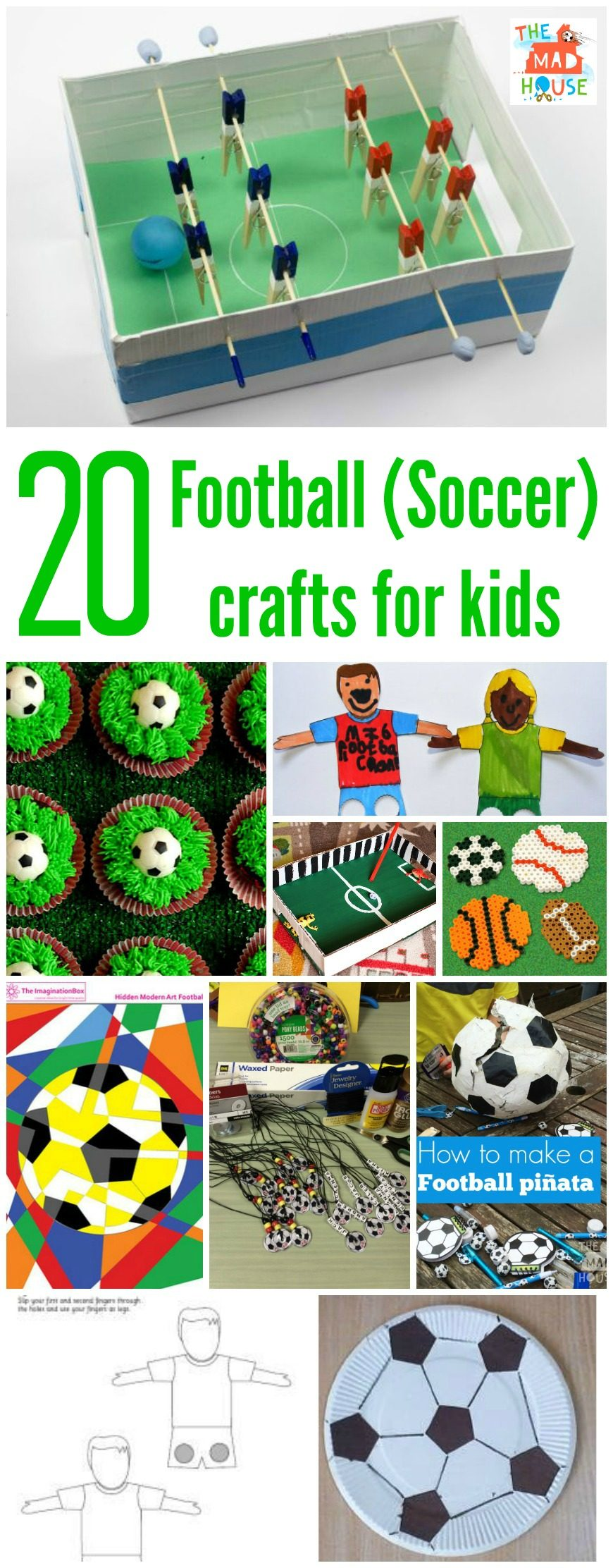 Football Crafts Or Soccer Crafts Mum In The Madhouse