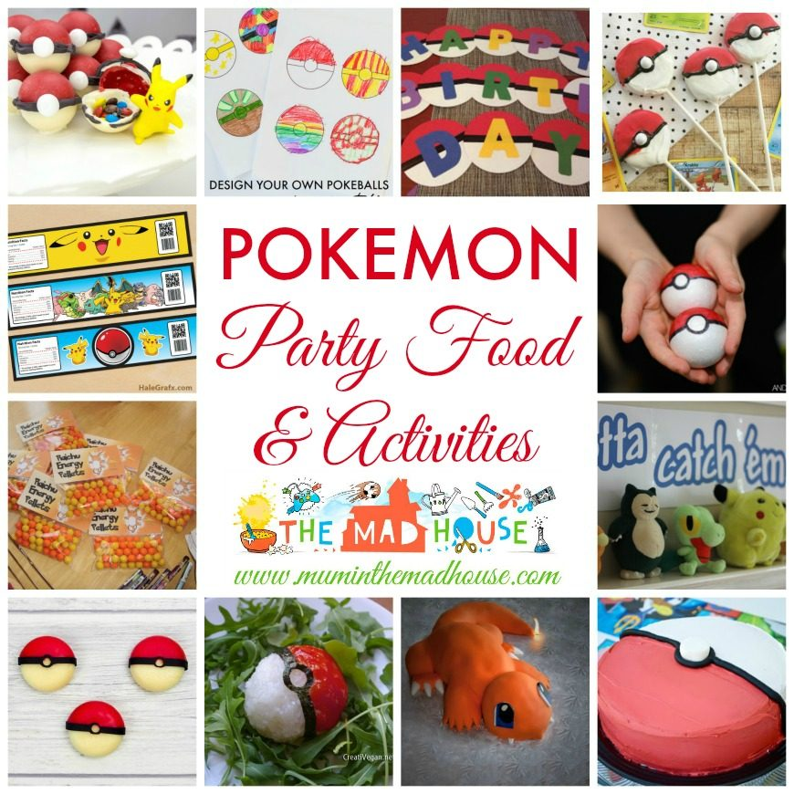 photo about Printable Pokemon Party Games named Do it yourself Pokemon Get together Strategies - Mum In just The Madhouse