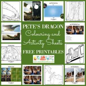 Pete S Dragon Colouring And Activity Pages Mum In The