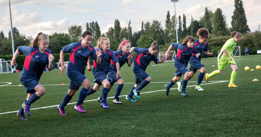 Football - Getting Girls in the Game