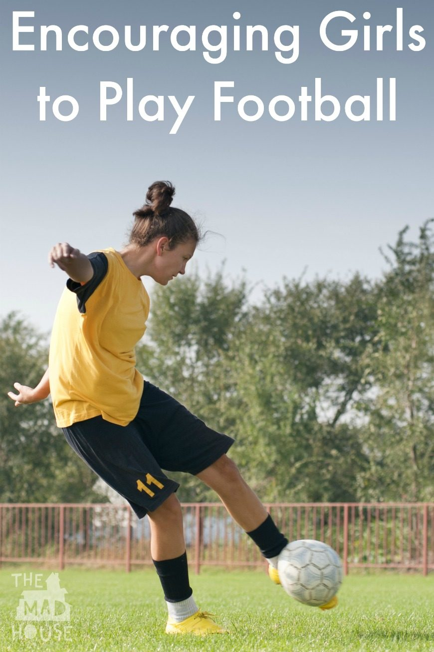Football - Getting Girls in the Game. Football is much more than just an exercise activity, football can be life changing. How can we encourage more girls into the game at grassroots?