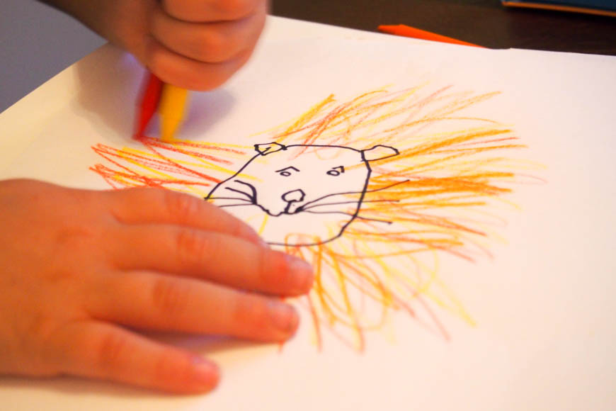 Design a Dream Pet - How to use a simple drawing prompt to help kids stop worrying about the blank page in front of them.